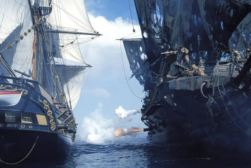 Новый фильм Пираты карибского моря: Мертвецы не рассказывают сказки в 2017 году