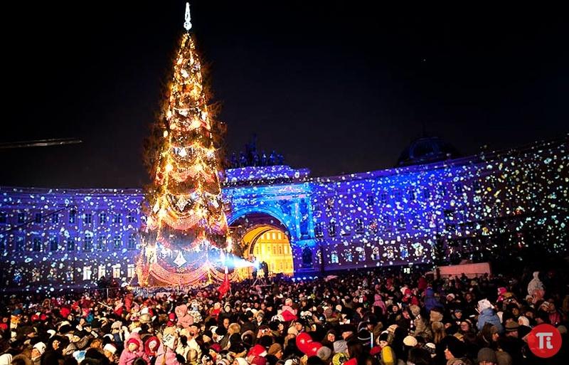 Новый 2017 год в Санкт-Петербурге