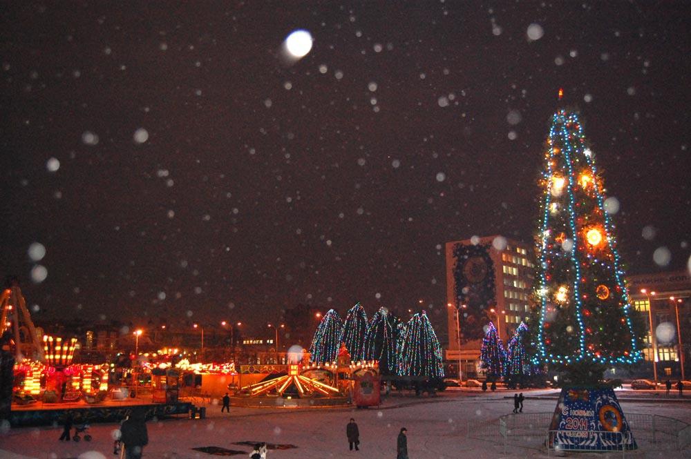 Новый 2017 год в Саратове