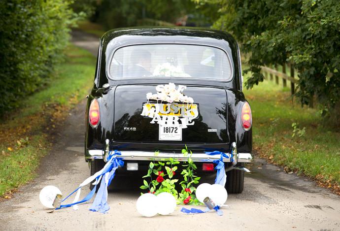 The wedding of Euan Blair and Suzanne Ashman at All Saints Parish Church in Wotton Underwood, Buckinghamshire, Britain - 14 Sep 2013