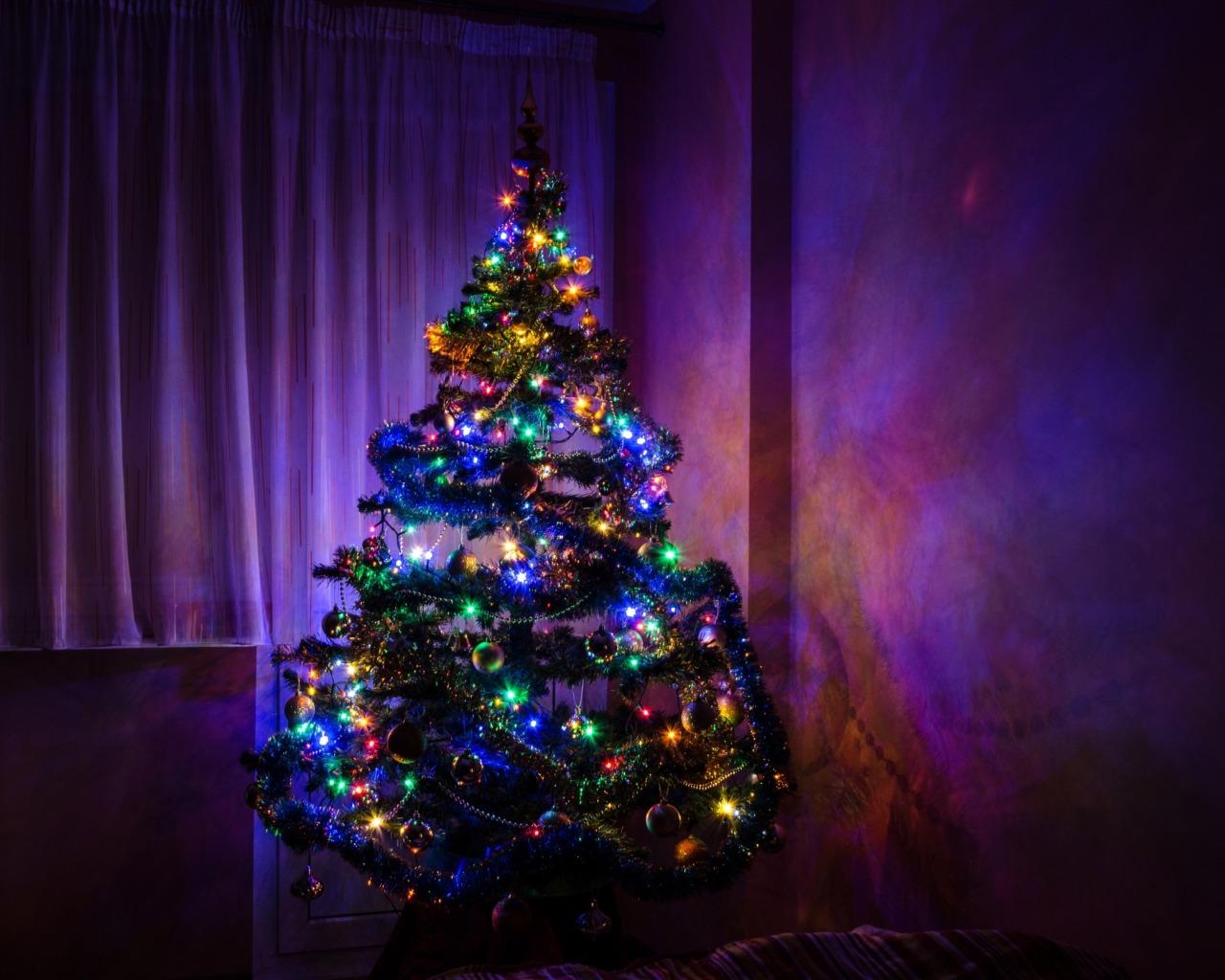 Чем украсть ёлку дома на Новый год 2019?