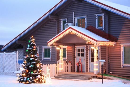 Дом отдыха коттедж на новый год