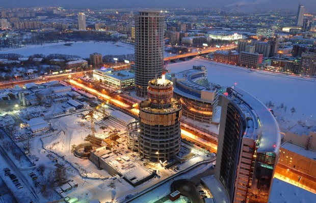 фото екатеринбург зимой