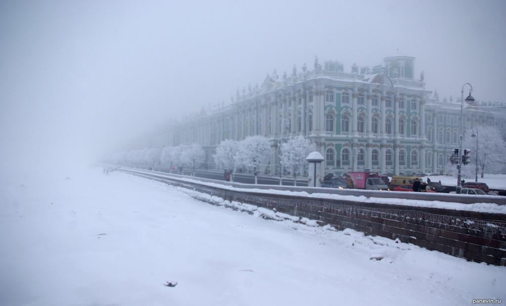Зима в Санкт-Петербурге 2016-2017