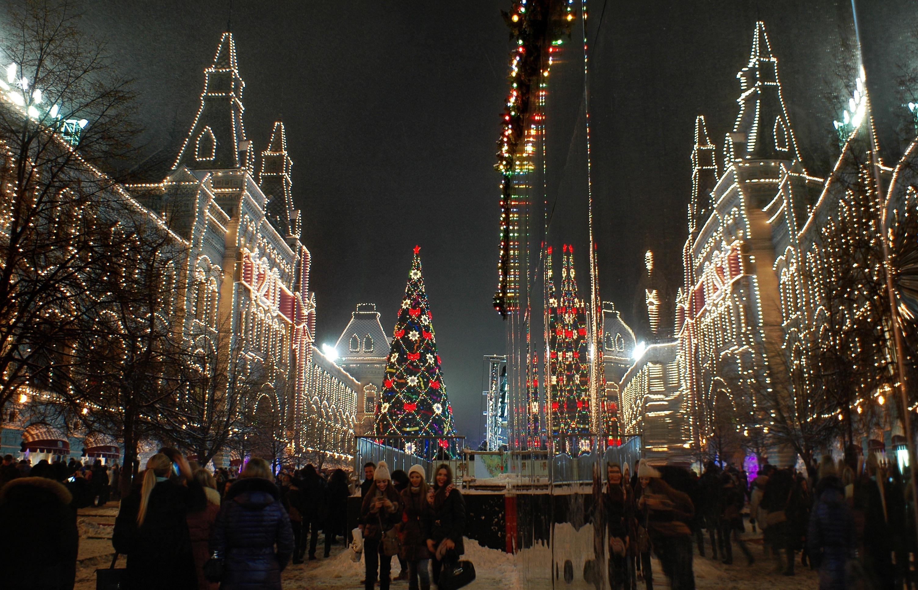 Новый 2017 год в Москве
