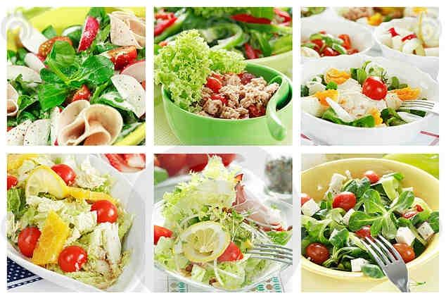 Вторые и салаты рецепты