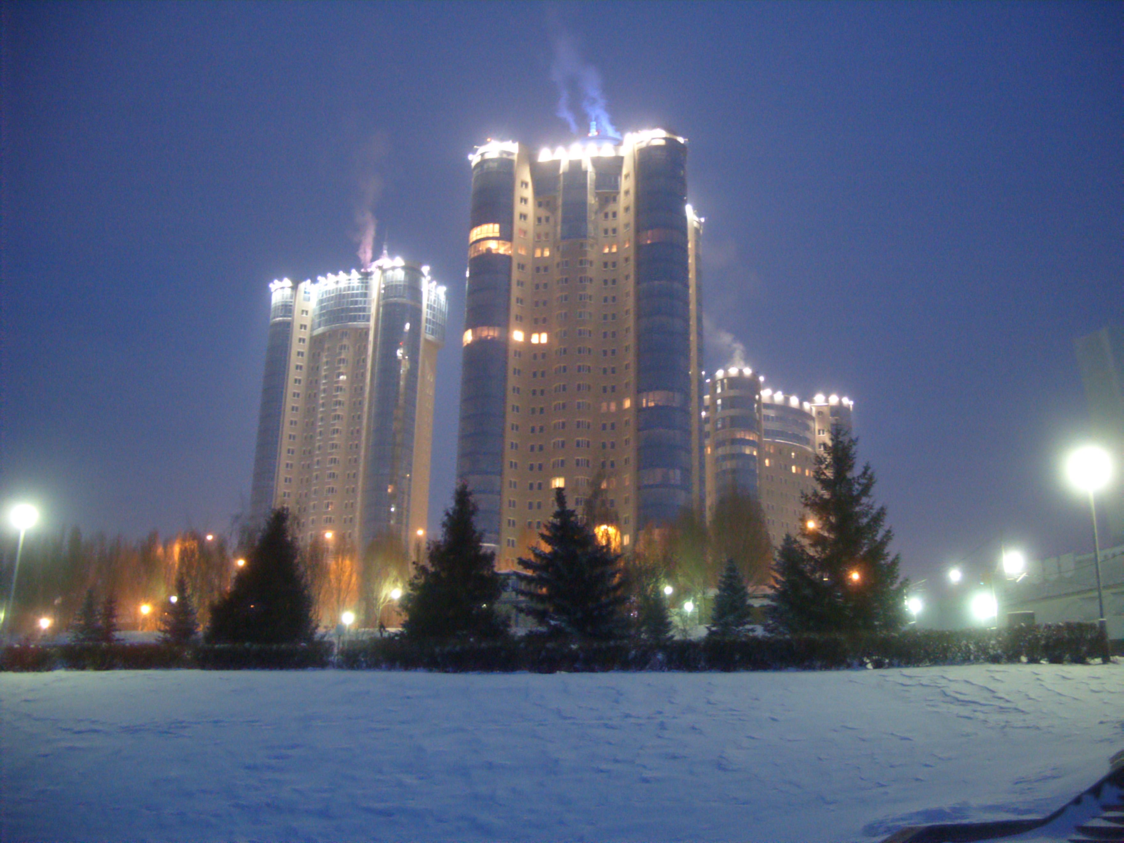 Зима в Самаре 2016-2017