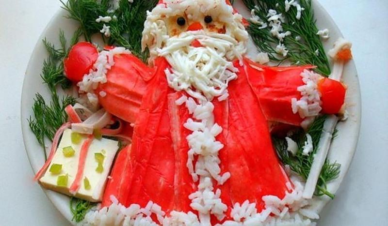 Салаты с рецептом на новый год