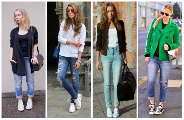 Обтягивающие джинсы в 2017 году