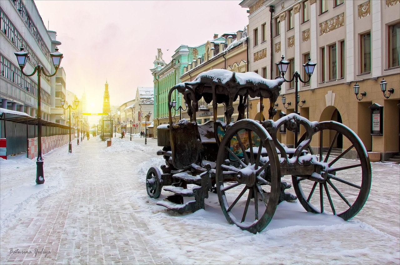 Зима в Казани 2016-2017